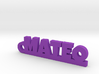 MATEO Keychain Lucky 3d printed