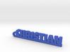 CHRISTIAN Keychain Lucky 3d printed