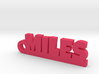 MILES Keychain Lucky 3d printed