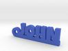 JOHN Keychain Lucky 3d printed