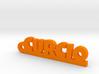 CURCIO Keychain Lucky 3d printed