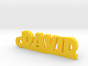 DAVID Keychain Lucky 3d printed