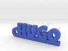HUGO Keychain Lucky 3d printed