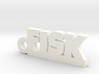 FISK Keychain Lucky 3d printed