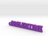 AIGLENTINE Keychain Lucky 3d printed