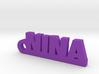 NINA Keychain Lucky 3d printed