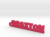 BRAXTON Keychain Lucky 3d printed