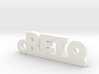 RETO Keychain Lucky 3d printed