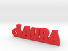 LAURA Keychain Lucky 3d printed