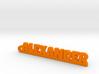 ALEXANDER Keychain Lucky 3d printed