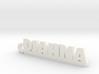 DIAHNA Keychain Lucky 3d printed