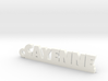 CAYENNE Keychain Lucky 3d printed