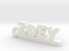 ZOEY Keychain Lucky 3d printed