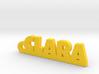 CLARA Keychain Lucky 3d printed