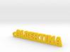 ALBERTINA Keychain Lucky 3d printed