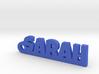 SARAH Keychain Lucky 3d printed