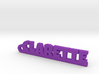 CLARETTE Keychain Lucky 3d printed