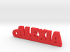 ALEXIA Keychain Lucky 3d printed