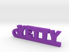YETTY Keychain Lucky 3d printed
