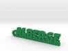 ALBERGE Keychain Lucky 3d printed