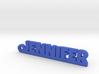 JENNIFER Keychain Lucky 3d printed
