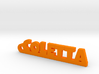 COLETTA Keychain Lucky 3d printed