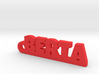 BERTA Keychain Lucky 3d printed