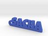 SACHA Keychain Lucky 3d printed