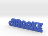 BROOKE Keychain Lucky 3d printed