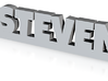 STEVEN Keychain Lucky 3d printed