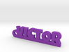 VICTOR Keychain Lucky 3d printed