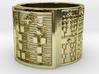 OTURAPOMPEYO Ring Size 13.5 3d printed
