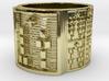 OTURAOGUNDA Ring Size 14 3d printed