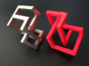 Knotcube  for puzzles 3d printed
