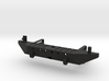 Rear Bumper with Receiver Hitch for Axial SCX10  3d printed