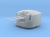 """1/350 4.7"""" MKXII CPXIX Twin Mount x4 3d printed 1/350 4.7"""" MKXII CPXIX Twin Mount x4"""
