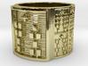 OSHENIWO Ring Size 13.5 3d printed