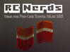 RCN016 Rear lights lenses for Pro-Line Toyota SR5  3d printed