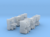 Stunts Driving Team G1 Toy - 3 Pack 3d printed