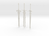 """BotW"" Elemental Blades Set 3d printed"