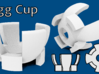 Egg Cup 3D Model Design 3d printed Views