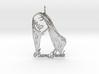Ariana Grande Pendant - Ariana Grande Fan Pendant  3d printed