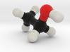 Alcohol / Ethanol Molecule Model. 4 Sizes. 3d printed