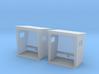 TJ-H01131x2 - Abribus beton, petits 3d printed