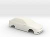 1:24 Hyundai Excel Slot Car 3d printed