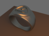 4 Elements - Earth Ring 3d printed Rendered Blender Image