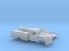 1/87 2017 Ford F-Series  Reg,Cab Utility Bed Kit 3d printed