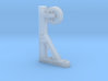 PULLEY or HOIST for Building Wall, HO Scale 3d printed