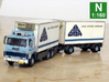 Scania 141 refrigerated lorry 1:160 scale 3d printed