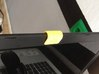 Webcam Privacy Cover - Tennis Edition 3d printed Yellow Webcam Cover on laptop